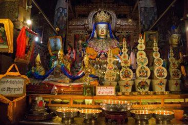 Pelkor Choede monastery in Gyantse, Tibet