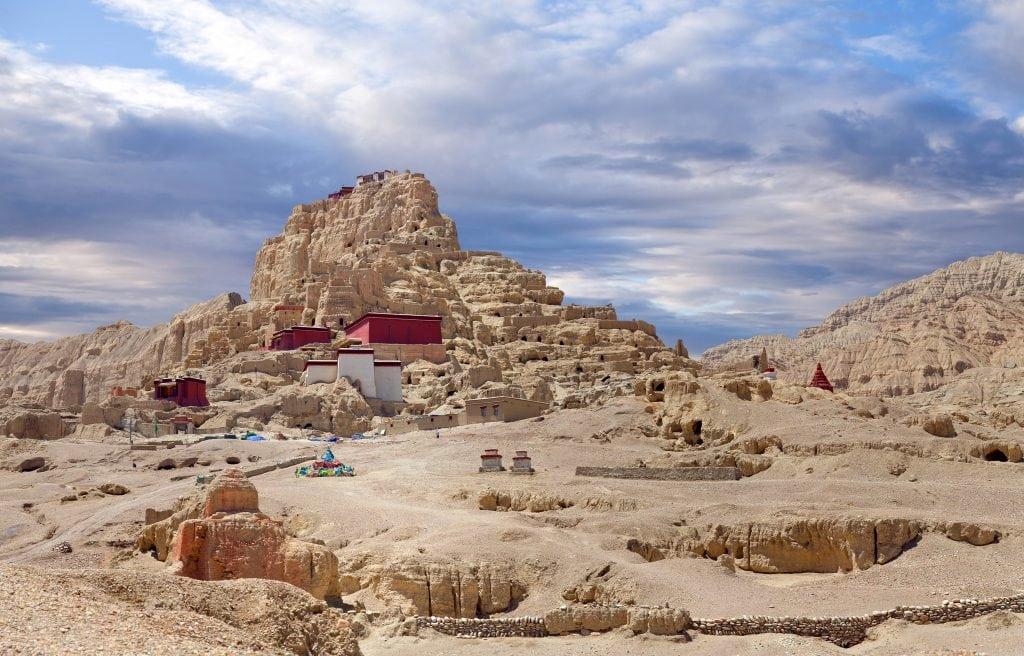 Tsaparang, The Ruins Of The Ancient Capital Of Guge Kingdom And