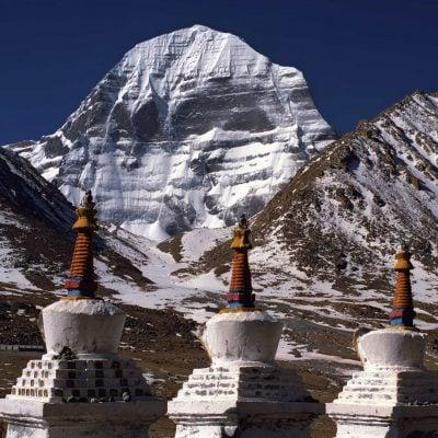 Stupas near Mt Kailash