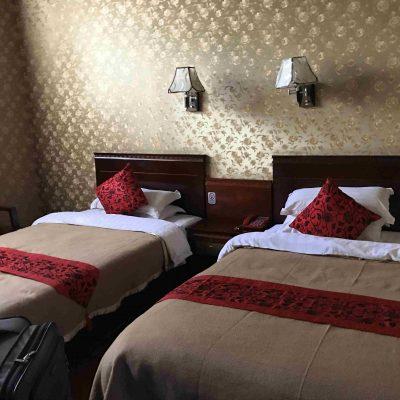 Room in hotel in Lhasa, Tibet