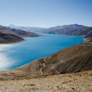 Yamdrok Lake in Tibet