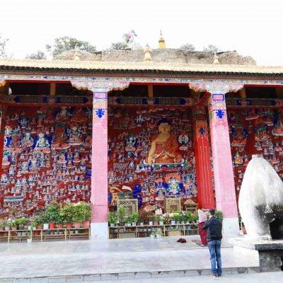 Buddha Rock Carvings in Lhasa