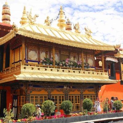 Dalai Lama living quarter in the Jokhang Temple
