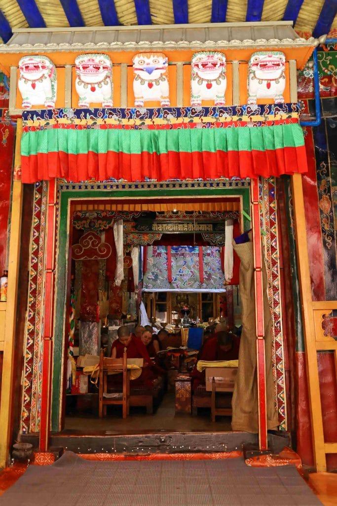 Entrance to Ani Tsamkhong Nunnery