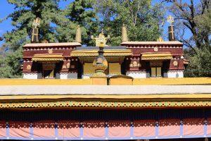 Kalsang Podrang Palace in Norbulingka