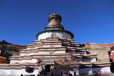 Kumbum Stupa in Gyantse, Tibet