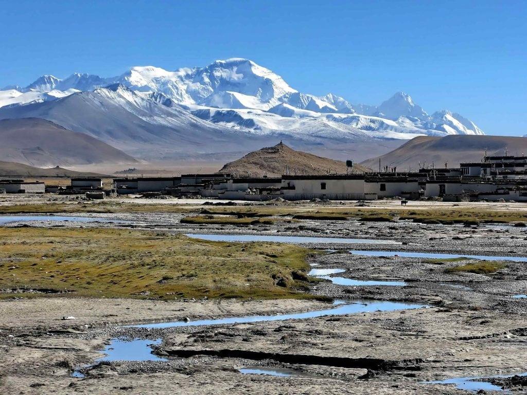 Mount Cho-Oyu in Tibet