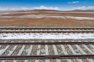 Railroad in Tibet