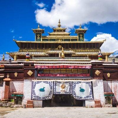 Samye Monastery the first Buddhist monastery in Tibet
