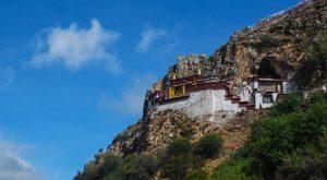 Drak Yerpa Hermitage in Tibet