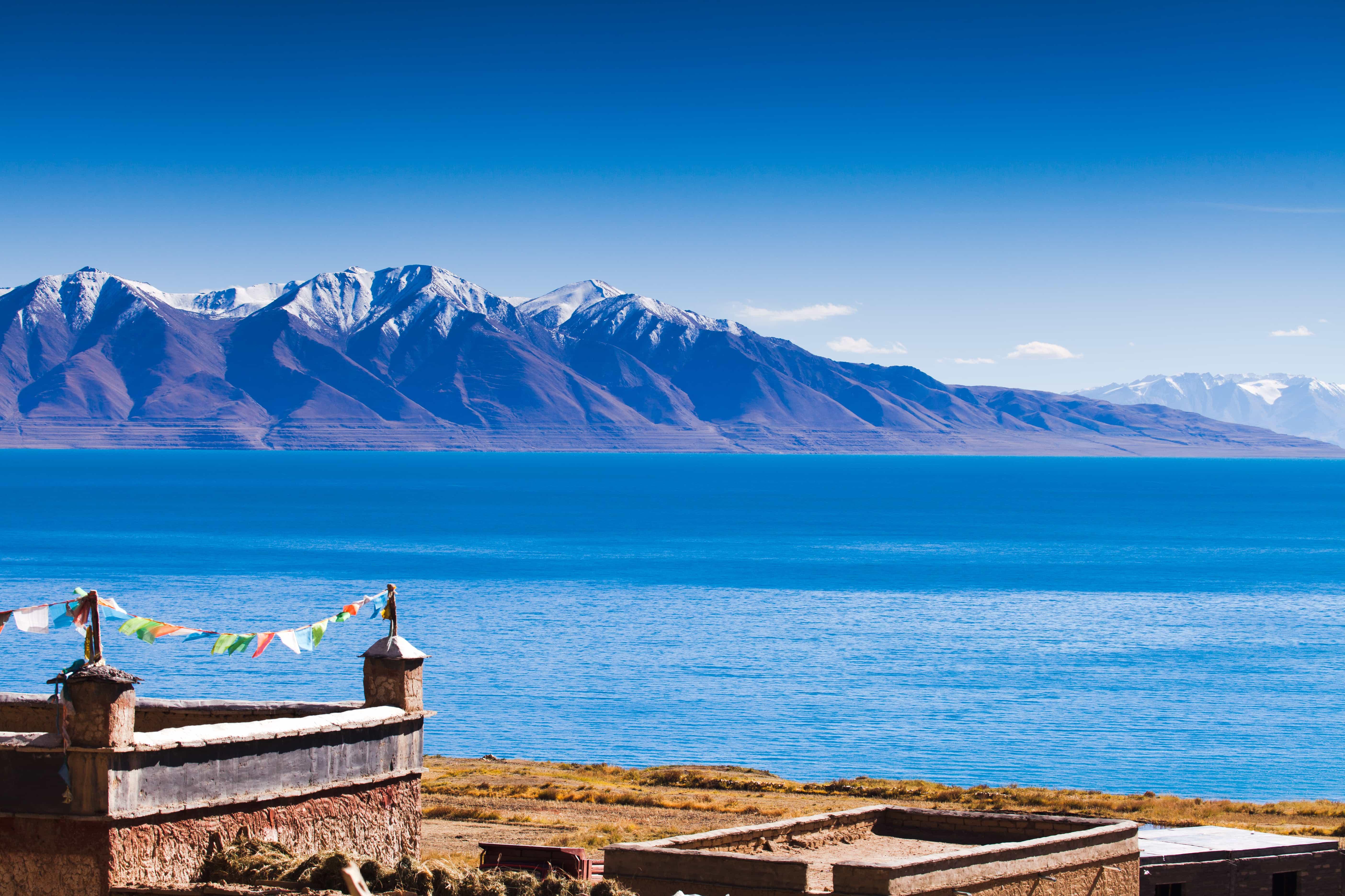Tangra Yumco Lake Tibet