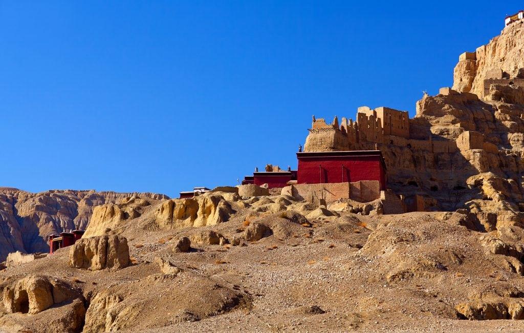 Tholing Monastery in Western Tibet