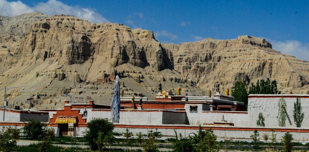 Tholing Monastery in Zanda Tibet