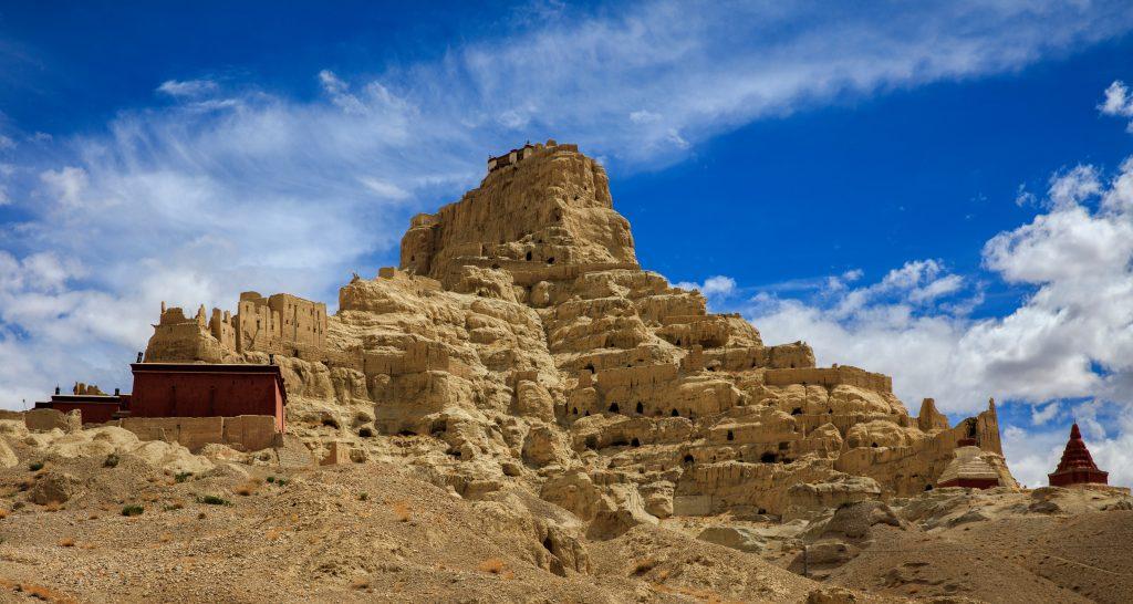 Zanda town in Ngari Western Tibet