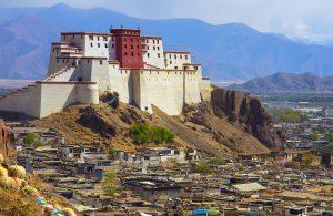 Shigatse fort, Tibet