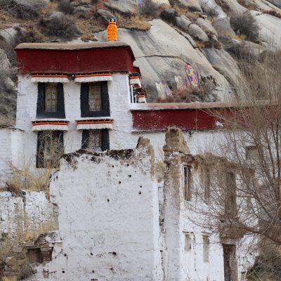 Inside Sera monastery complex