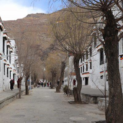 Main alley in Sera monastery complex