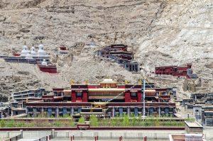 Sakya Monastery near Shigatse, Tibet