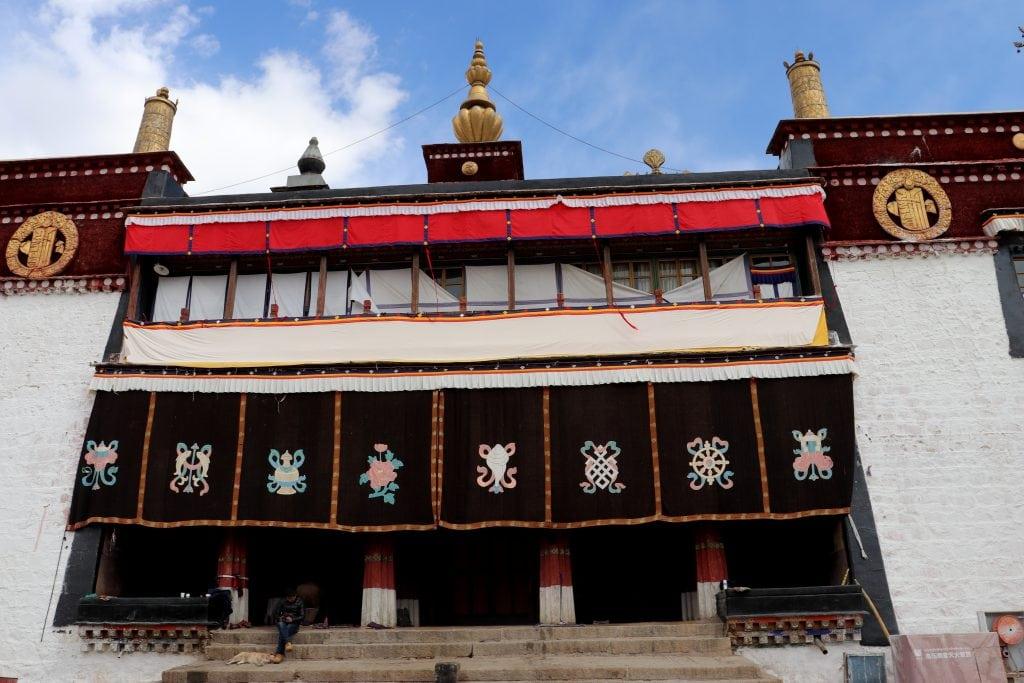 Sera Ngagpa College Assembly hall