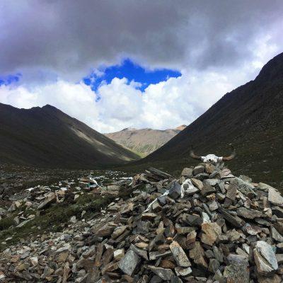 Chitu-la Pass in Tibet