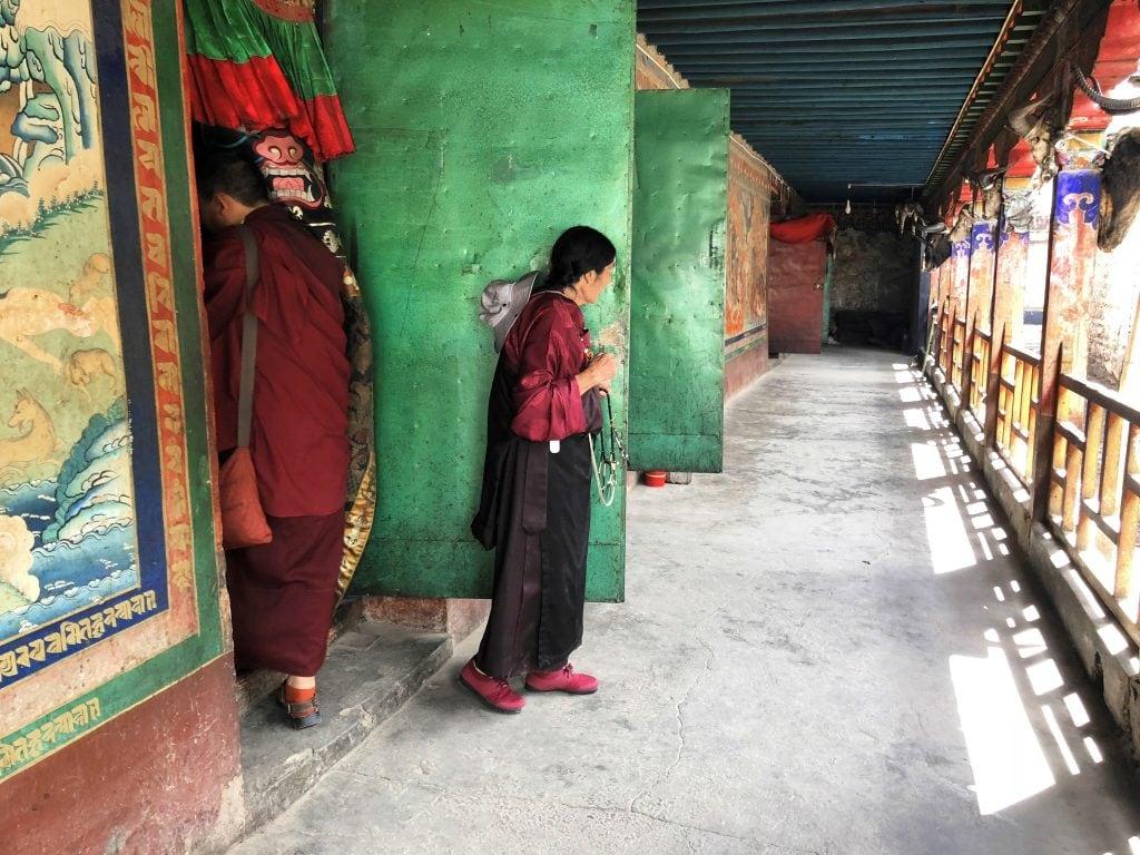 Entrance to protectors chapels in Tsurpu