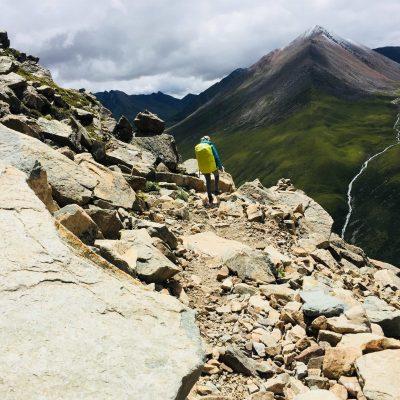 Trekking down to Tsotup-Chu valley in Tibet