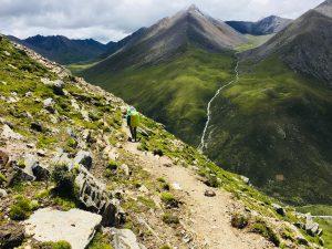 Trekking from Ganden to Samye in Tibet