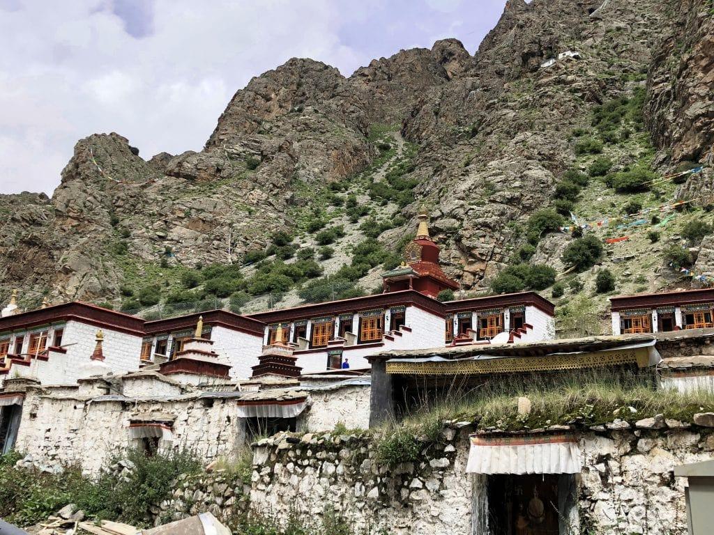 Tsurpu Monastery complex in Tibet
