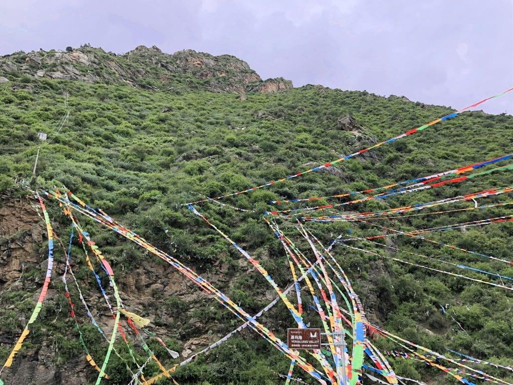 Yemalung Hermitage site in Tibet
