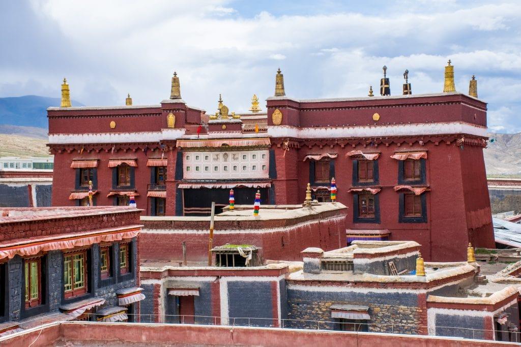 Sakya monastery in Central Tibet near Shigatse