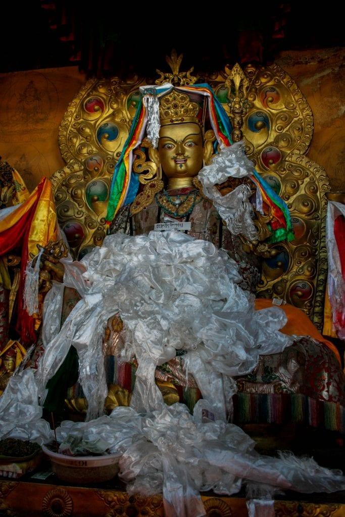Statue of Padma Sambhava or Guru Rinpoche (Tibetan)