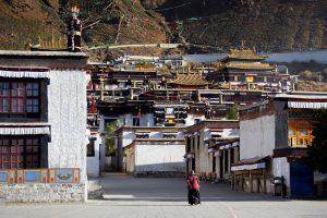 Tashilhunpo monastery in Shigatse in Central Tibet