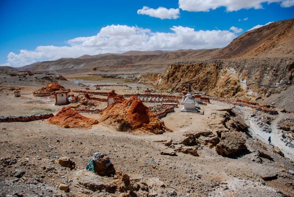 Tirthapuri monastery in Ngari Western Tibet