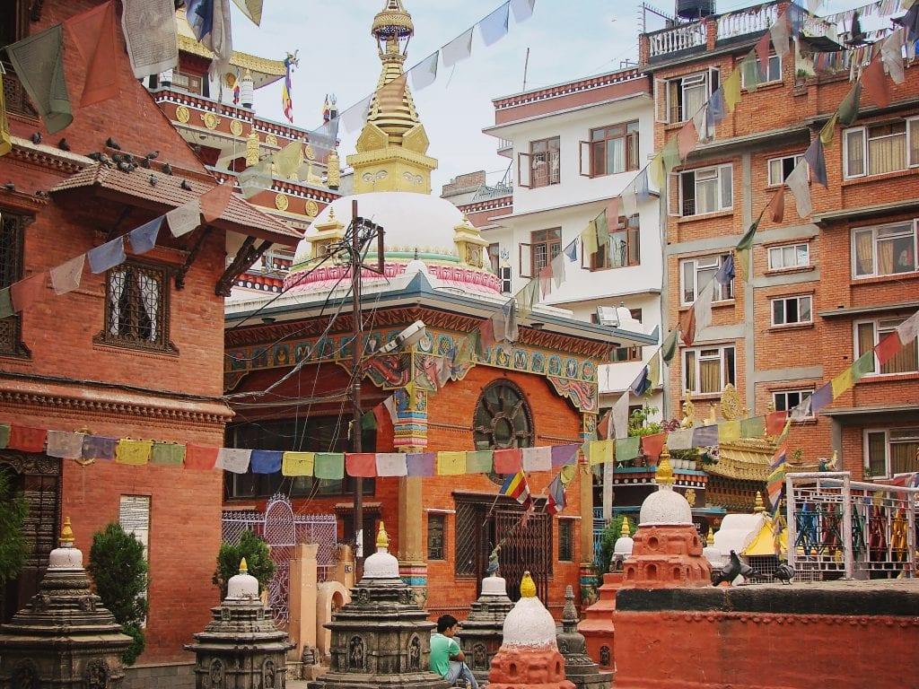 Kathmandu streets in Thamel