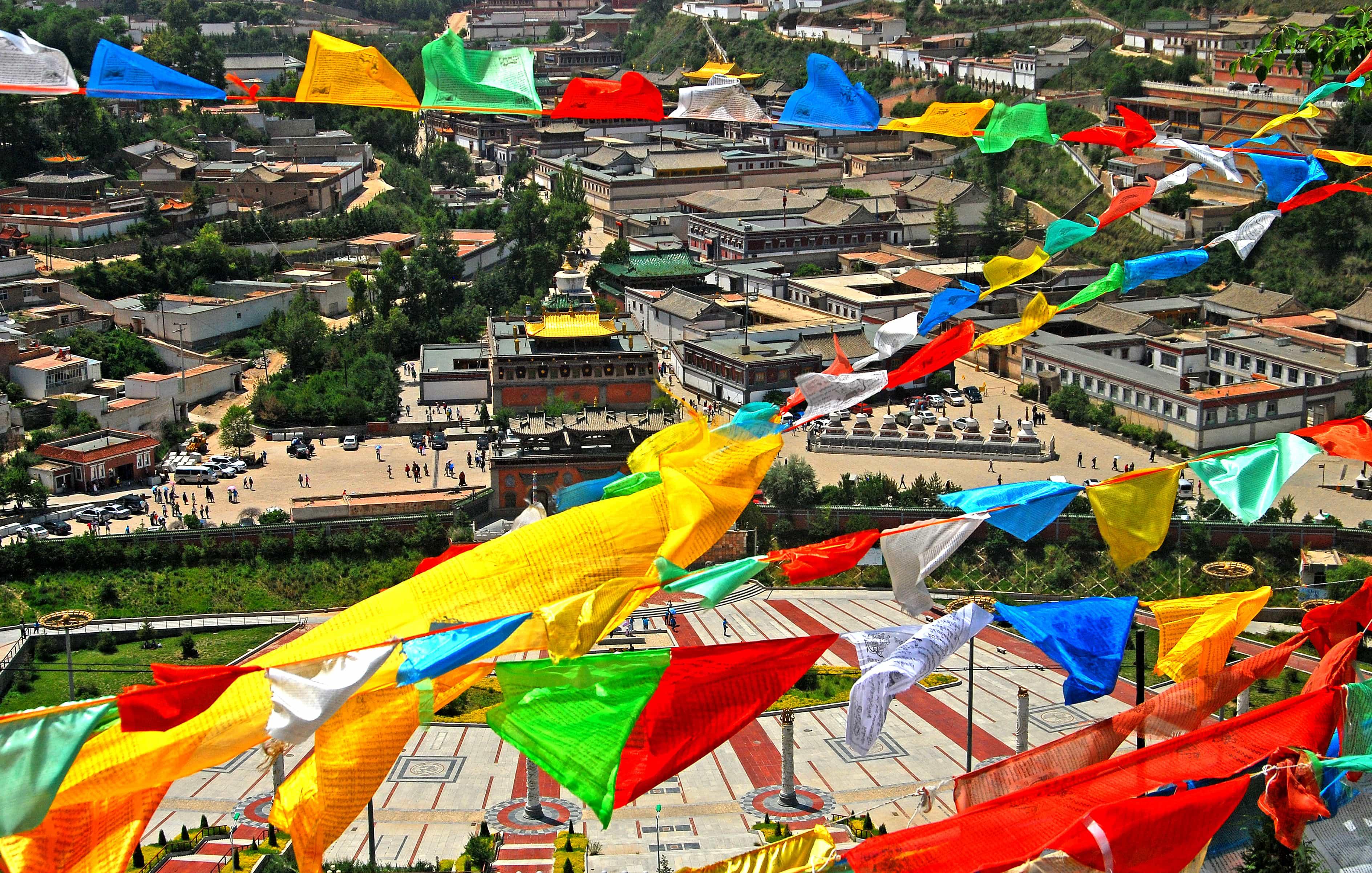 Ta'er Monastery, Kumbum. Xining, Qinghai