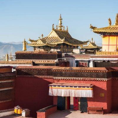 Tashilhunpo Monastery in Shigatse, Central Tibet