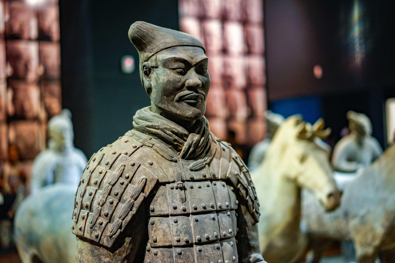The Terracotta Warriors museum outside of Xian