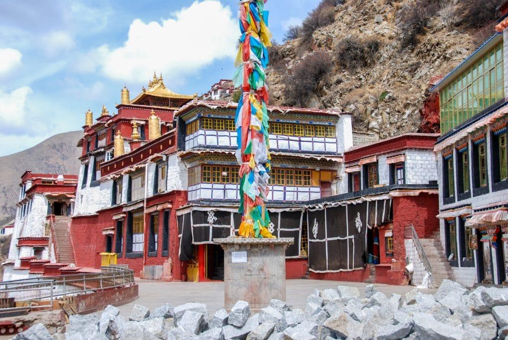 Drigung Til monastery near Lhasa, Tibet