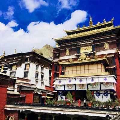 Kelsang Temple in Tashi Lhunpo