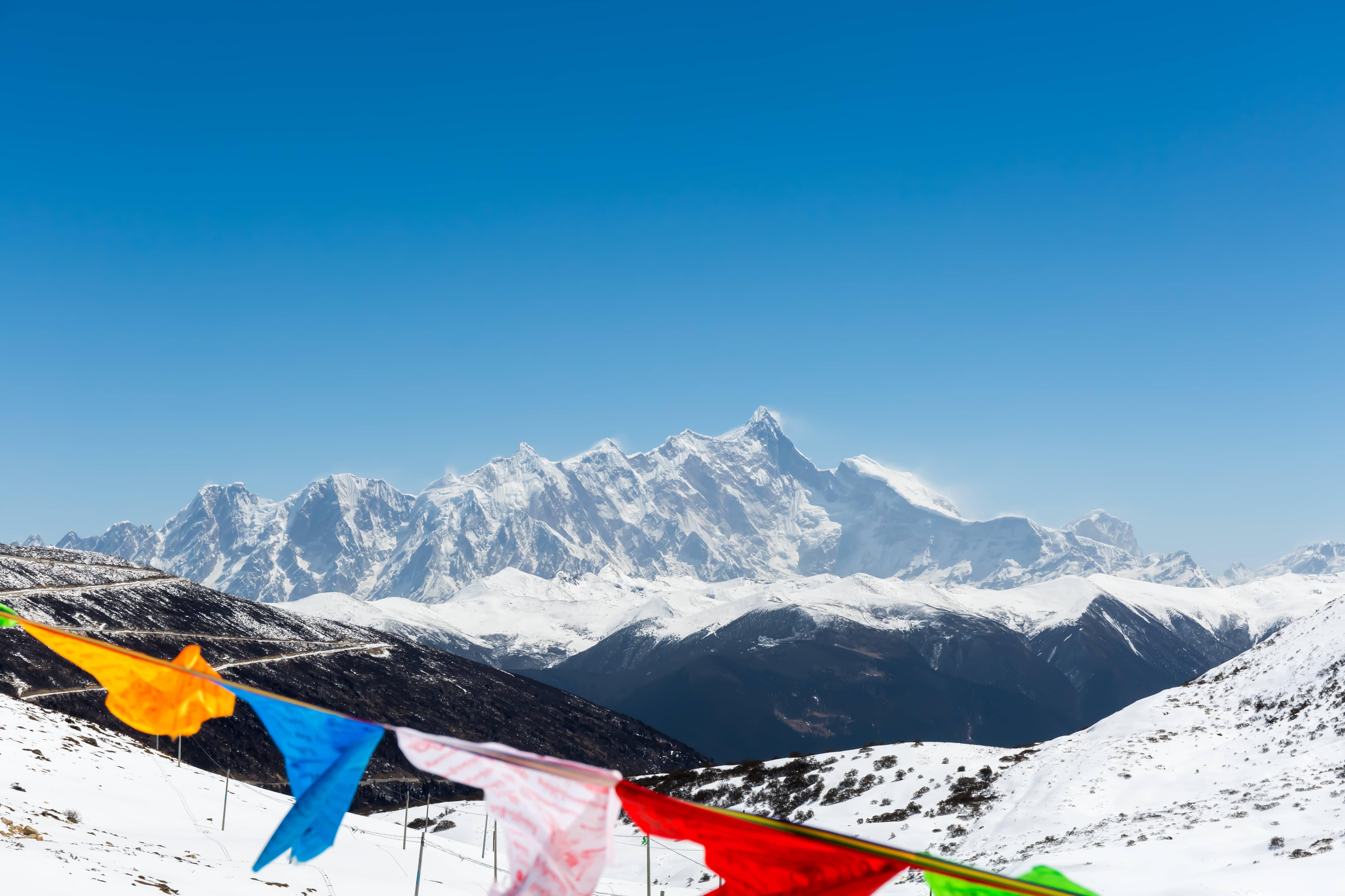 namcha barwa peak in tibet