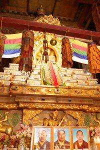 Golden Stupa of 10th Panchen Lama in Tashi Lhunpo monastery