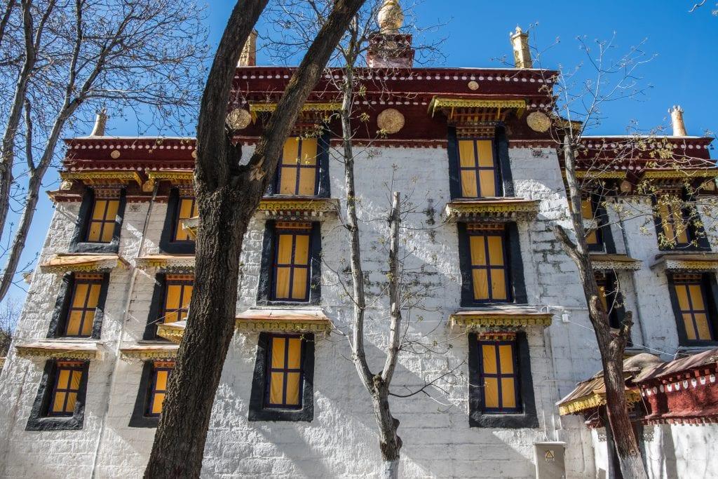 Norbulingka Palace in Lhasa, Tibet