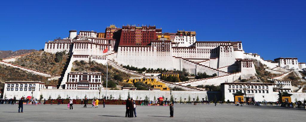 Potala Palace, UNESCO World Heritage in Lhasa, Tibet