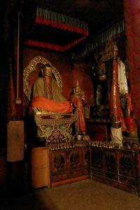 Present Buddha statue in Tashi Lhunpo