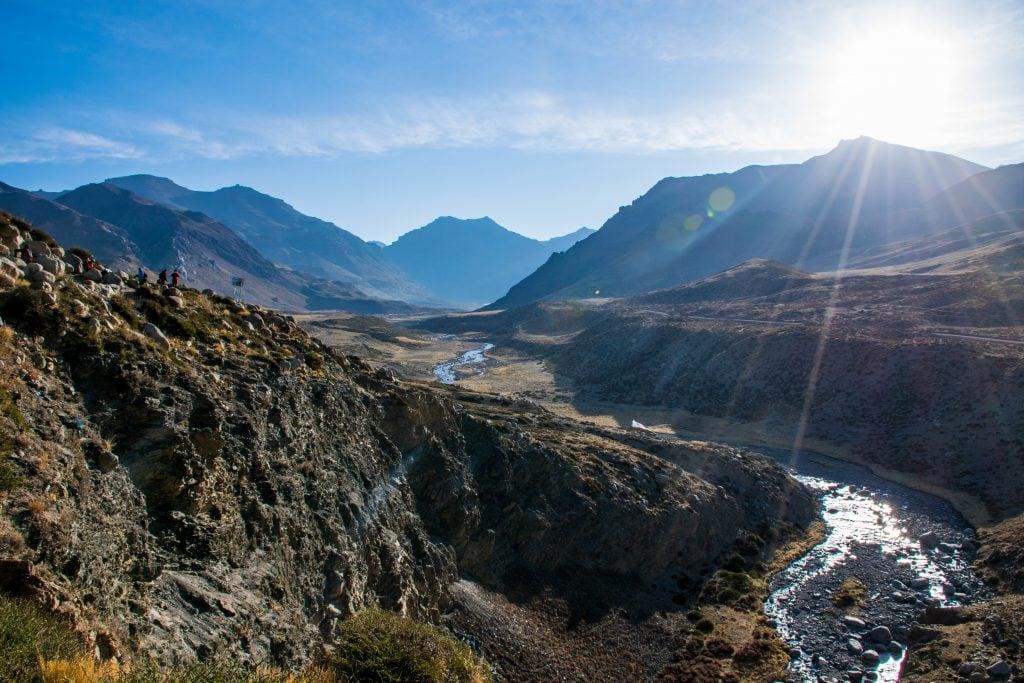 Views on the trek around Mount Kailash in Tibet