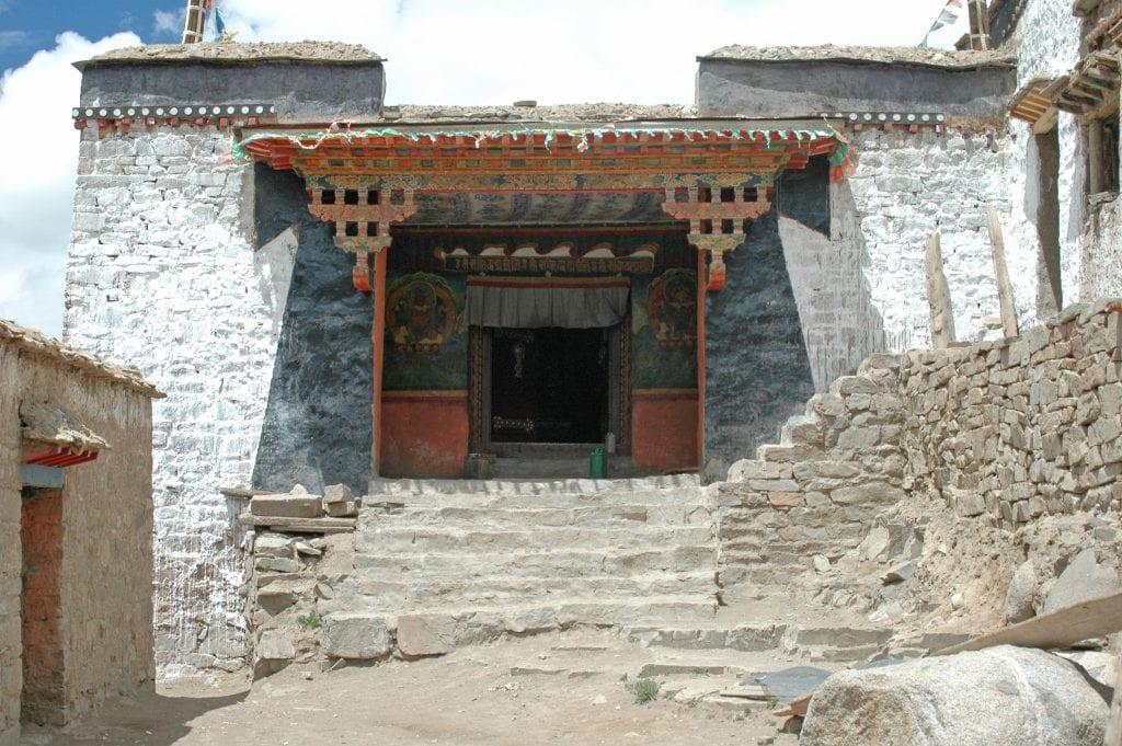 Zultul Puk Tibetan monastery on the East side of Mount Kailash