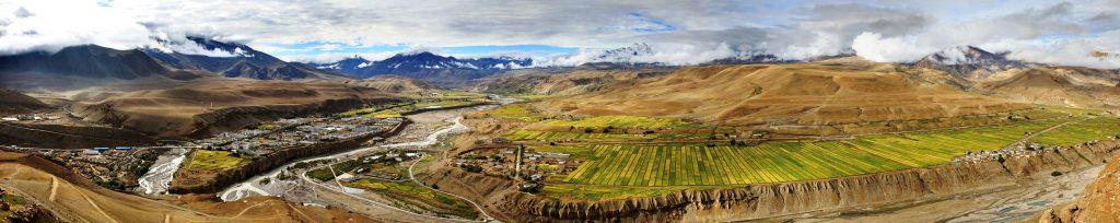 Burang county in Tibet
