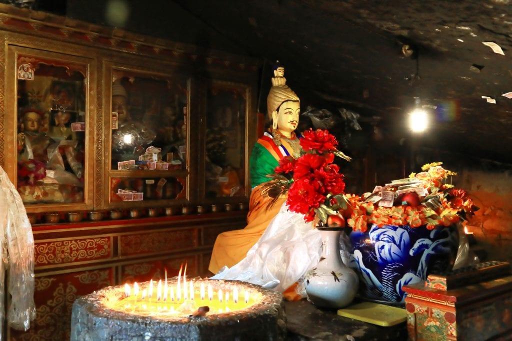 Meditation cave in Pabongka