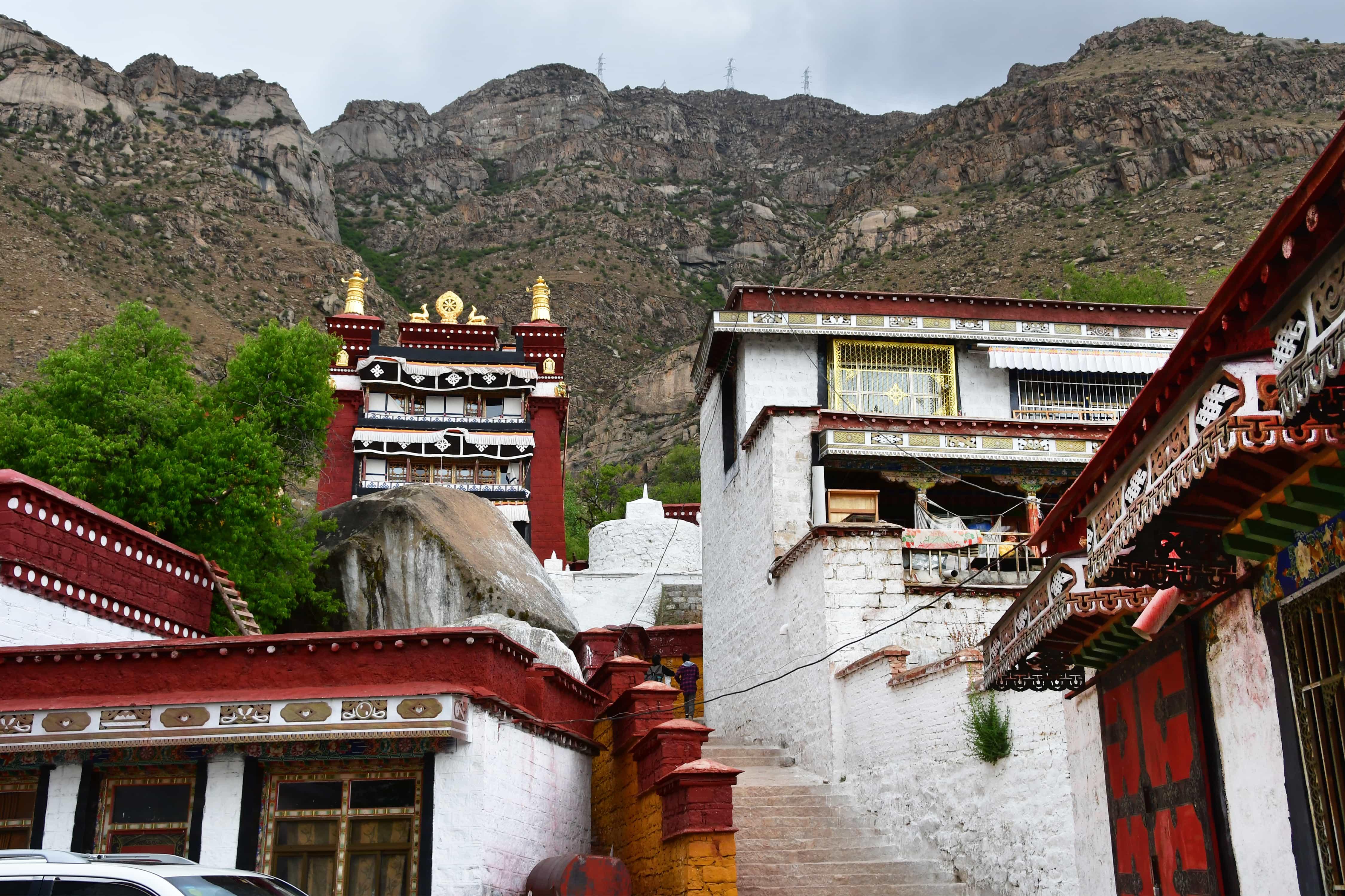 Pabongka Hermitage 7th century, Lhasa, Tibet