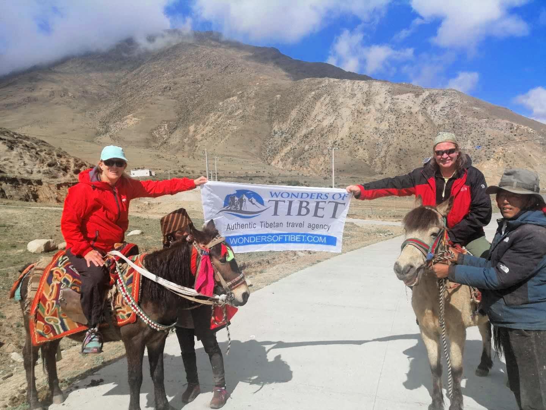 Horse riding in Tibet with Wonders of Tibet